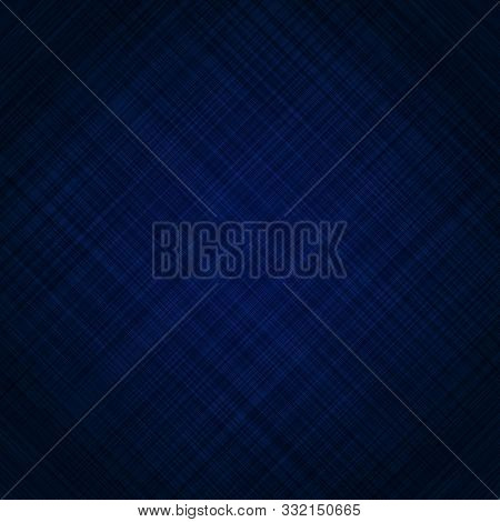 Abstract Dark Blue Background And Scratch Streak Texture. Vector Illustration