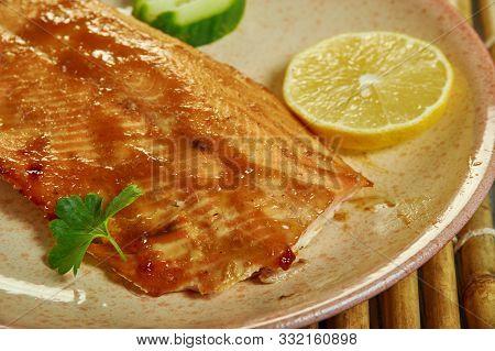 Cajun Brown Sugar Salmon, Mix Some Dark Brown Sugar And Some Cajun Seasoning.