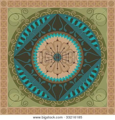 Vegetal Mandala