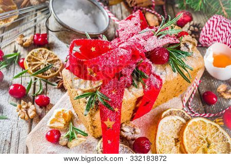 Christmas Winter Fruit Cake