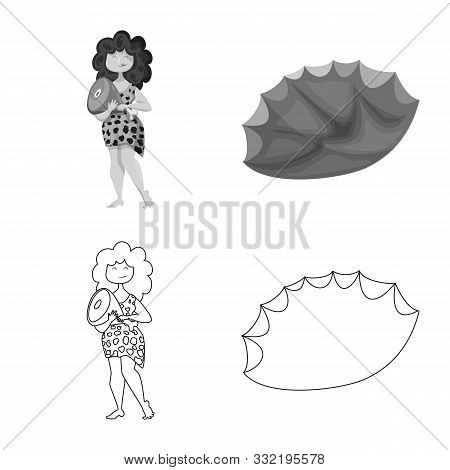 Isolated Object Of Evolution And Prehistory Symbol. Set Of Evolution And Development Vector Icon For