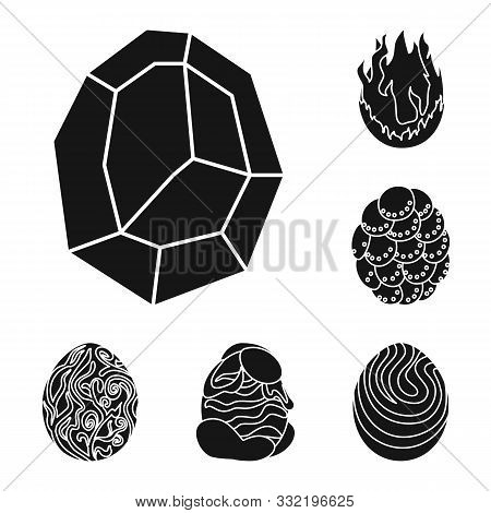 Isolated Object Of Fantastic And Cute Icon. Set Of Fantastic And Magic Vector Icon For Stock.