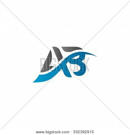 Initial Ab Letter Logo. Simple Ab Logo Vector Template. Abstract Ab Logo. Ab Logo Template. Ab Logo.