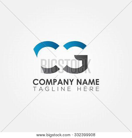 Initial Cg Letter Logo Vector Template Design. Linked Letter Cg Logo Design. Cg Business Logo. Minim