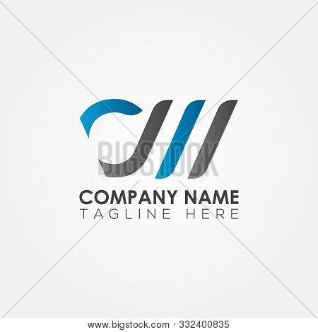 Initial Cm Letter Logo Vector Template Design. Linked Letter Cm Logo Design. Cm Vector, Cm, Cm Lette
