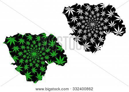 Tshopo Province (democratic Republic Of The Congo, Dr Congo, Drc, Congo-kinshasa) Map Is Designed Ca