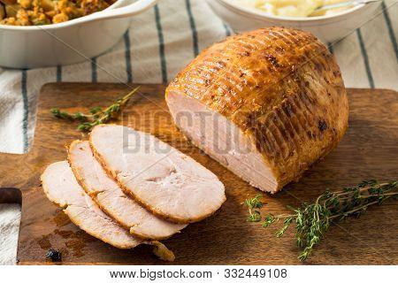 Homemade Thanksgiving Turkey Breast Roast
