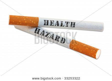 Smoking Is A Health Hazard
