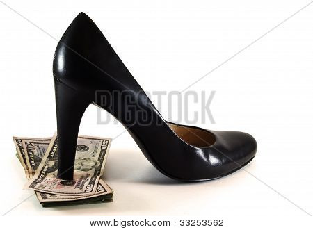 High Heel And Money