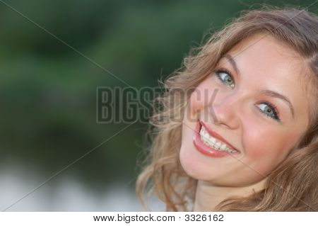 Attractive Smiling Girl