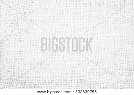 Pastel Abstract Hessian Or Sackcloth Fabric Texure Background. Wallpaper Of Artistic Wale Linen Canv