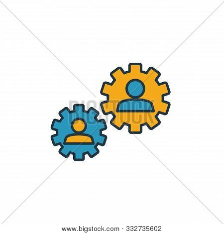 Collaboration Icon. Simple Element From Soft Skills Icons Collection. Creative Collaboration Icon Ui
