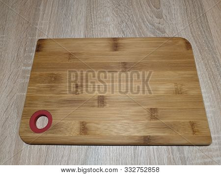 Wooden Cutting Board. Board For Cutting Food. Kitchen Utensils