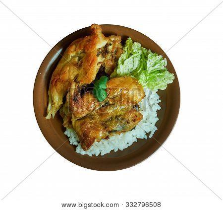 Cameroonian Kati Kati Chicken