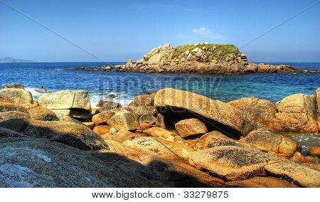 Lanzada beach