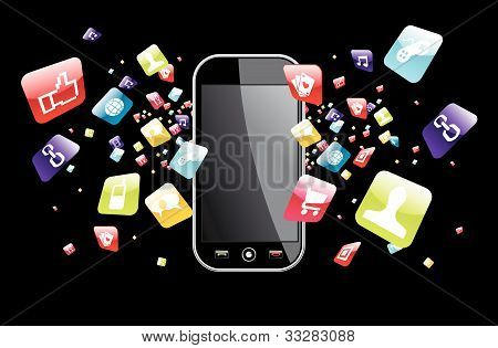 Globale Smartphone-Apps