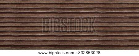 The Old Dark Wooden Texture Pattern Background.