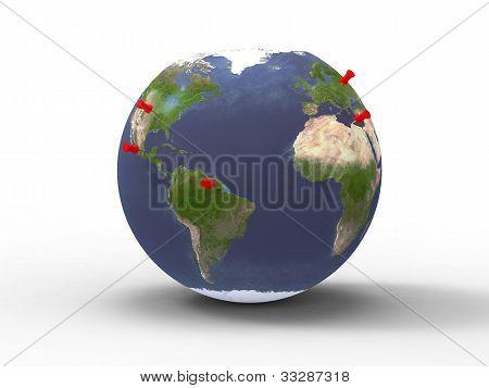 Pins planet
