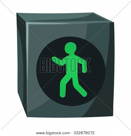 Isolated Object Of Stoplight And Signal Icon. Graphic Of Stoplight And Svetofor Vector Icon For Stoc
