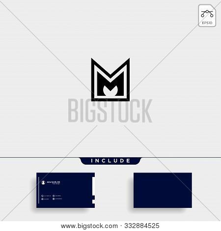 Letter M Am Ma Mm Monogram Logo Design Minimal