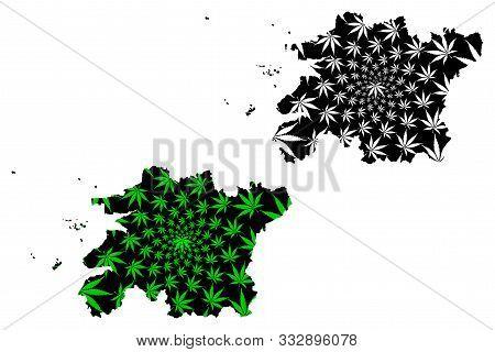 North Jeolla Province (south Korea, Republic Of Korea, Rok, Provinces Of South Korea) Map Is Designe