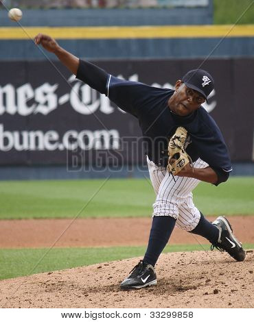 Scranton Wilkes Barre Yankees pitcher Amauri Sanit