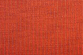 Qualitative red fabric texture. Abstract background. Close up. poster