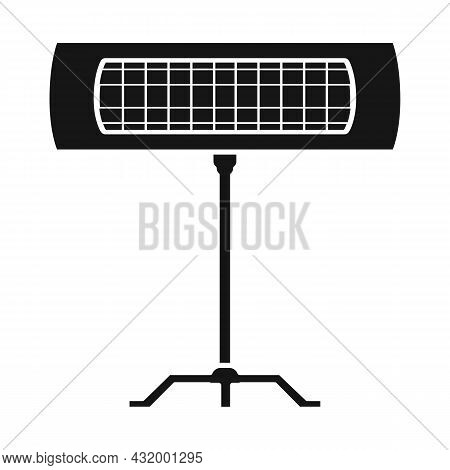Vector Design Of Heater And Infrared Icon. Web Element Of Heater And Lamp Vector Icon For Stock.