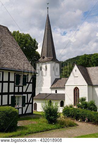 Medieval Church Of Wiedenest, Bergneustadt, Bergisches Land, Germany