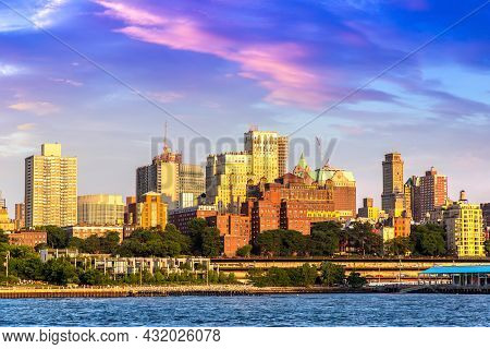 Panoramic View Of Brooklyn In New York City, Ny, Usa