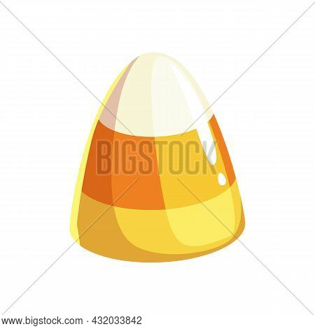 Jelly Candy Isolated Three Color Marmalade Dessert Realistic Icon. Vector Milk Chocolate Candy Birth