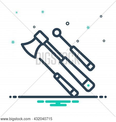 Mix Icon For Equipment Appliance Instrument Apparatus Instrumentation Hardware Machinery Accessory O