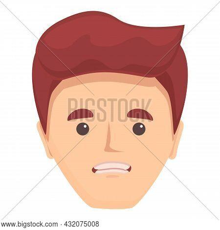Talking Speech Icon Cartoon Vector. Mouth Character. Lip Language