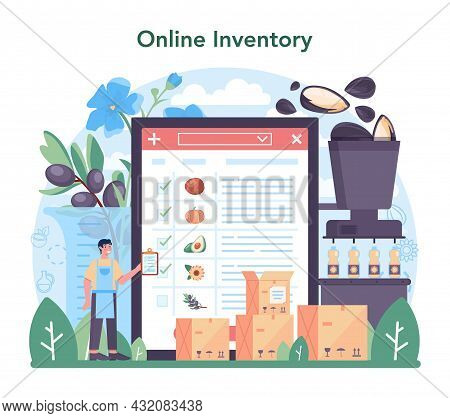 Oil Extraction Or Production Industry Online Service Or Platform
