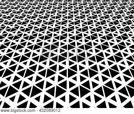 Abstract Geometric Pattern. Modern Vector Background. White And Black Ornament. Graphic Modern Patte