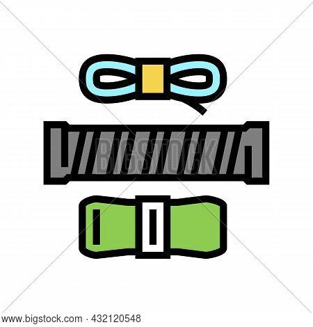 Over Grips Tennis Accessory Color Icon Vector. Over Grips Tennis Accessory Sign. Isolated Symbol Ill