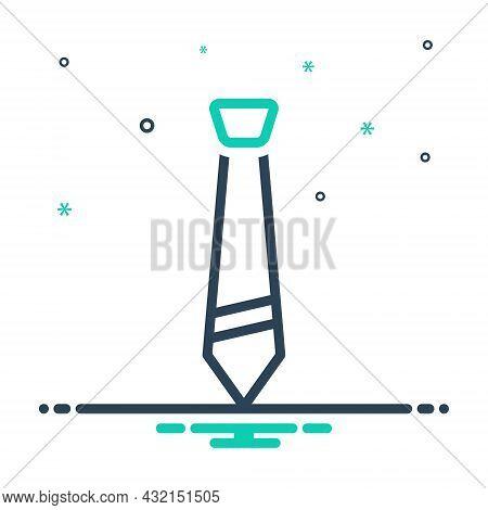 Mix Icon For Tie Apparel Man Necktie Garment Professional Garment Collar Accessory Fashion