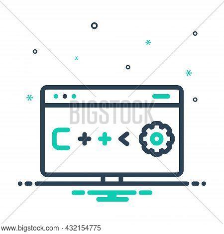 Mix Icon For Program Scheme Plan Plan-of-action Schedule Project Website Analytics Code Optimization