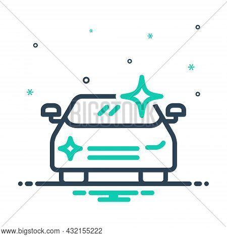 Mix Icon For Shine Car-polish Glow Glare Glitter Luster Sparkle Polish Cleaning