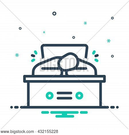 Mix Icon For Tired  Exhausted Aweary Seedy Weary Sleepy Discharged Worker Snooze
