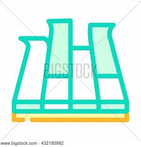 Modular Pva Cover Floor Color Icon Vector. Modular Pva Cover Floor Sign. Isolated Symbol Illustratio
