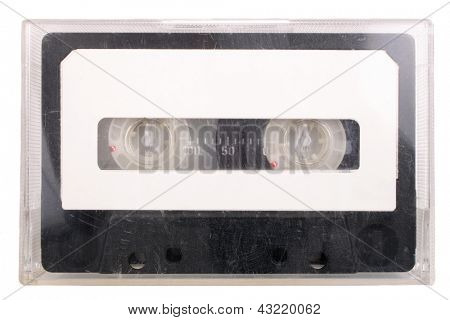 Photo of Audio cassette and case