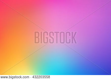 Abstract Smooth Blurred Colored Mesh Background. Colorful Gradient Vibrant Colors. Colorful Sleek Ba