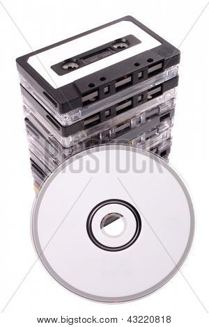 Photo of Audio cassette to CD