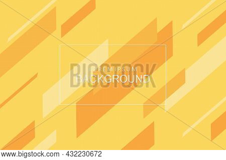 Light Yellow Background, Set Of Oblique Stripes In Pastel Colors.