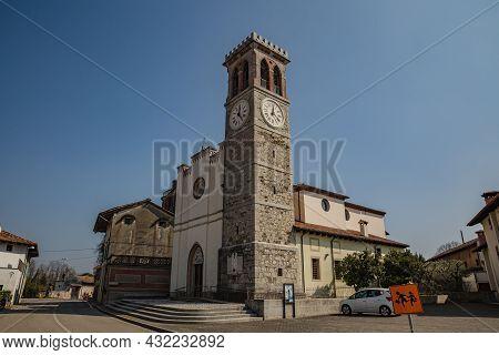 Country Church Of San Giovanni Battista And Nicolò Vescovo In Oleis, Manzano, Udine, Friuli Venezia