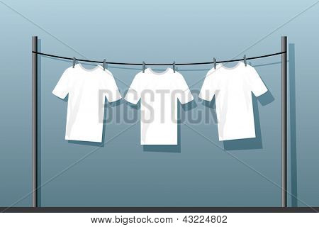laundry drying