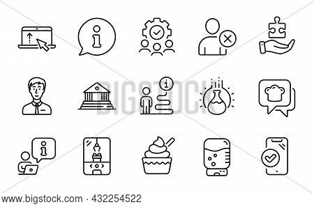 Business Icons Set. Included Icon As Crane Claw Machine, Teamwork, Delete User Signs. Swipe Up, Appr