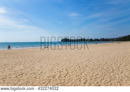Kabee Thailand,31,jun,2020,during The Summer On Koh Lanta In Thailand, The Sea Is Calm And The Weath