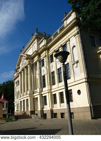 The Old House In Kaunas City, Lithuania